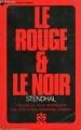 Couverture Le rouge et le noir Editions Ulysse 1973