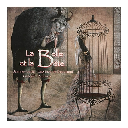 Couverture La Belle et la Bête (Pacheco)