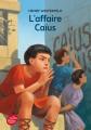 Couverture L'affaire Caïus Editions Le Livre de Poche (Jeunesse) 2014