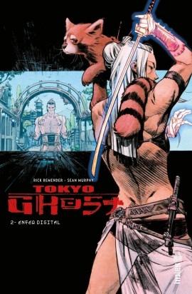 Couverture Tokyo ghost, tome 2 : Enfer digital