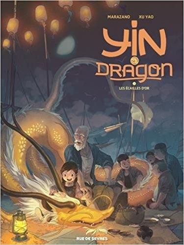 Couverture Yin et le dragon, tome 2 : Les écailles d'or