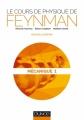 Couverture Le cours de physique de Feynman, tome 1 : Mécanique Editions Dunod 2014