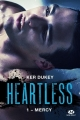 Couverture Heartless, tome 1 : Mercy Editions Milady 2017