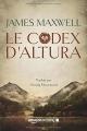 Couverture La saga des éternels, tome 1 : Le codex d'Altura Editions Amazon Crossing 2017