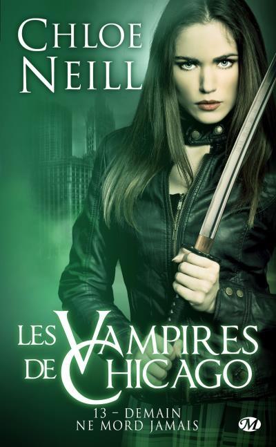 Couverture Les vampires de Chicago, tome 13 : Demain ne mord jamais