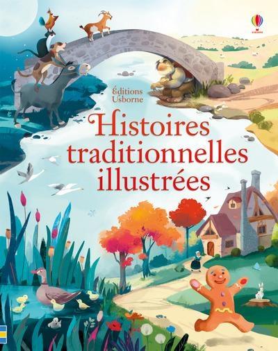 Couverture Histoires traditionnelles illustrées