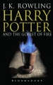 Couverture Harry Potter, tome 4 : Harry Potter et la coupe de feu Editions Bloomsbury 2004