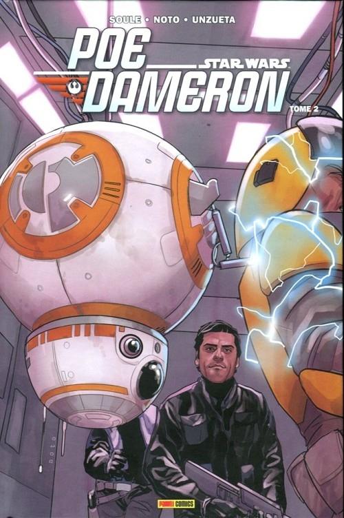 Couverture Star Wars : Poe Dameron, tome 2 : Sous les verrous