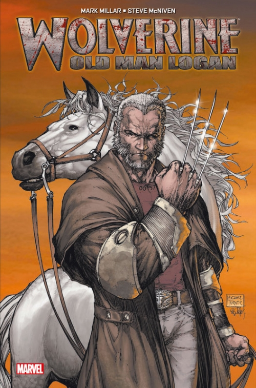 Couverture Wolverine : Old man Logan