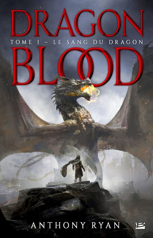 Couverture Dragon blood, tome 1 : Le sang du dragon