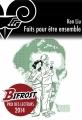 Couverture Faits pour être ensemble Editions Le Bélial' (e-Bélial' Nouvelles) 2015