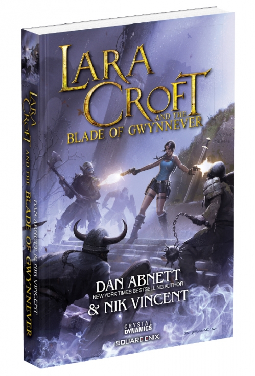 Couverture Lara Croft and the Blade of Gwynnever