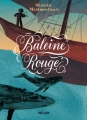 Couverture Baleine rouge Editions Hélium (Fiction jeunesse) 2017