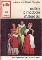 Couverture Le médecin malgré lui Editions Bordas (Univers des lettres) 1986