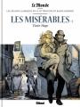 Couverture Les misérables, tome 1 Editions Glénat 2017