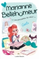 Couverture Marianne Bellehumeur, tome 1 : Les pirouettes du coeur Editions Boomerang 2016
