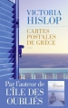 Couverture Cartes postales de Grèce Editions Les Escales 2017