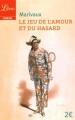 Couverture Le jeu de l'amour et du hasard Editions Librio (Théâtre) 2016