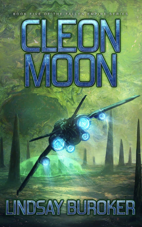 Couverture Fallen Empire, book 5: Cleon Moon