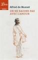 Couverture On ne badine pas avec l'amour Editions Librio (Théâtre) 2016