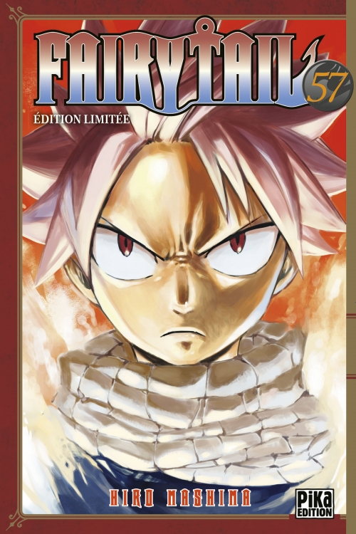 Couverture Fairy Tail, tome 57