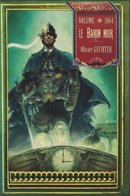 Couverture Le baron noir, intégrale : Volume 1864