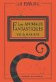 Couverture Les animaux fantastiques Editions Gallimard  (Jeunesse) 2017