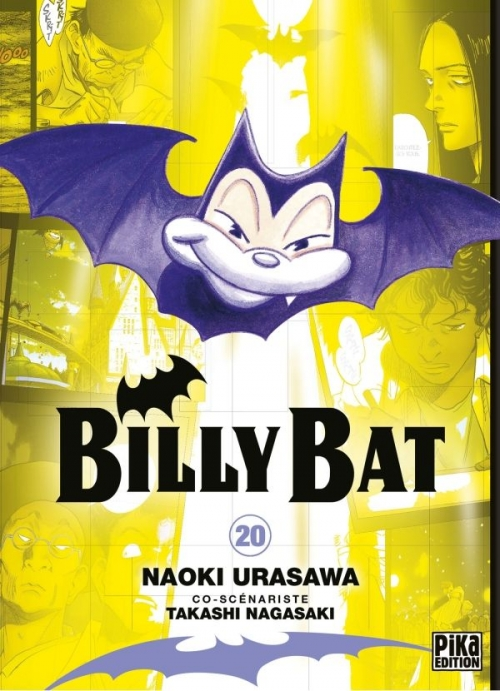 Couverture Billy Bat, tome 20