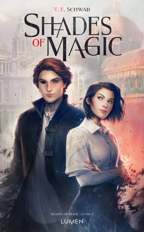 Couverture Shades of Magic, tome 1 : Shades of Magic