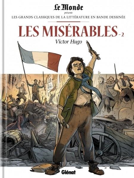 Couverture Les misérables, tome 2