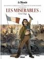 Couverture Les misérables, tome 2 Editions Glénat 2017