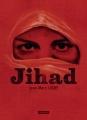 Couverture Jihad Editions L'Atalante (La Dentelle du cygne) 2017