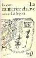Couverture La leçon Editions Folio  1954