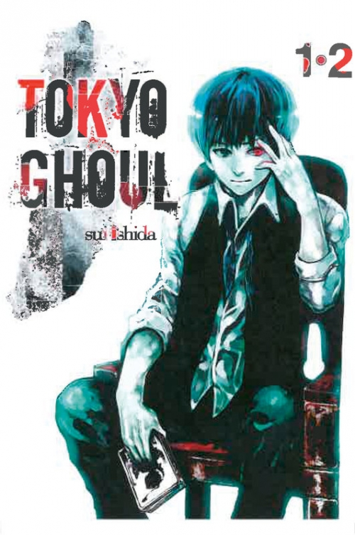 Couverture Tokyo ghoul, double, tomes 01 et 02