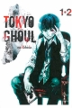 Couverture Tokyo ghoul, double, tomes 01 et 02 Editions France Loisirs 2017