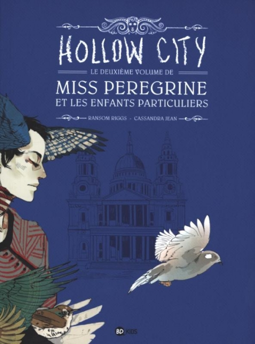 Couverture Miss Peregrine et les enfants particuliers (BD), tome 2