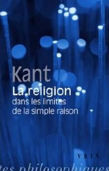 Couverture La religion dans les limites de la simple raison