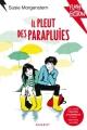 Couverture Il pleut des parapluies Editions Rageot 2017