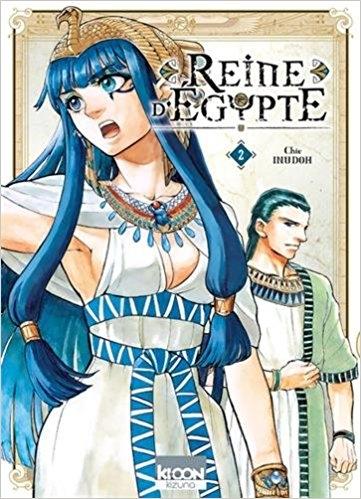 Couverture Reine d'Égypte, tome 2