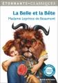 Couverture La belle et la bête Editions Flammarion (GF - Etonnants classiques) 2017