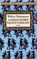 Couverture Le songe d'une nuit d'été Editions Dover Thrift (Classics) 1992