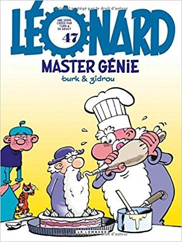 Couverture Léonard, tome 47 : Master génie