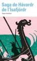 Couverture Saga de Havardr de l'Isafjörd Editions Folio  (2 €) 2016