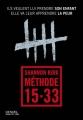 Couverture Méthode 15-33 Editions Denoël (Sueurs froides) 2016