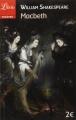 Couverture Macbeth Editions Librio (Théâtre) 2014