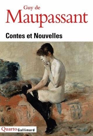Couverture Contes et nouvelles (Gallimard)