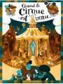 Couverture Quand le cirque est venu Editions Delcourt (Jeunesse) 2017