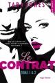 Couverture Le contrat, double, tomes 1 et 2 Editions Hugo & cie (New romance) 2017