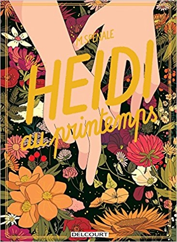 Couverture Heidi au printemps
