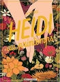 Couverture Heidi au printemps Editions Delcourt (Hors collection) 2017